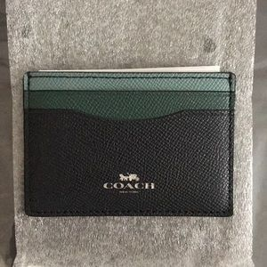 Brand New Coach Colorblock Card Case